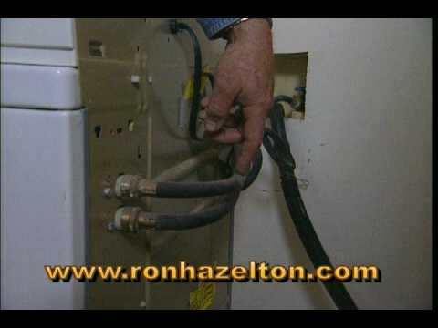 How to Replace Washing Machine Hoses