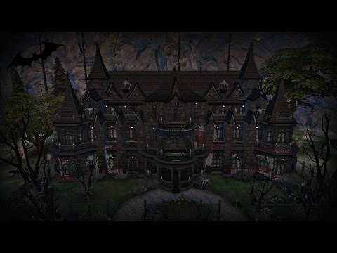 The Sims 4: Speed Build - Vampire Mansion