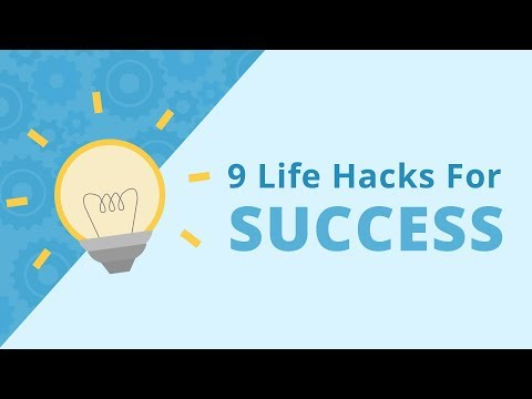 9 Life Hacks for Success | Brian Tracy