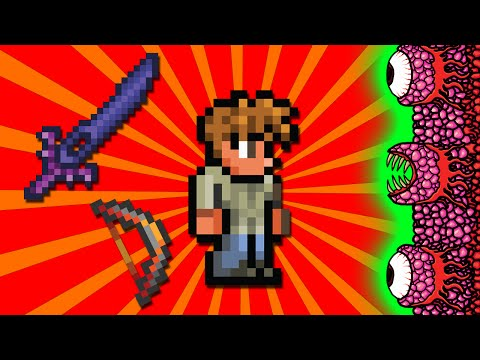 Terraria - How To Defeat The Wall Of Flesh
