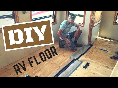DIY RV Reflooring with a Flush Slide-Out
