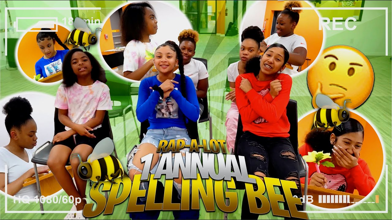 RAPALOT GIRLS SPELLING BEE CHALLENGE!!! (FUNNY)