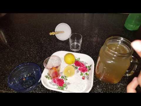 Lemonade with Jaggery and Honey