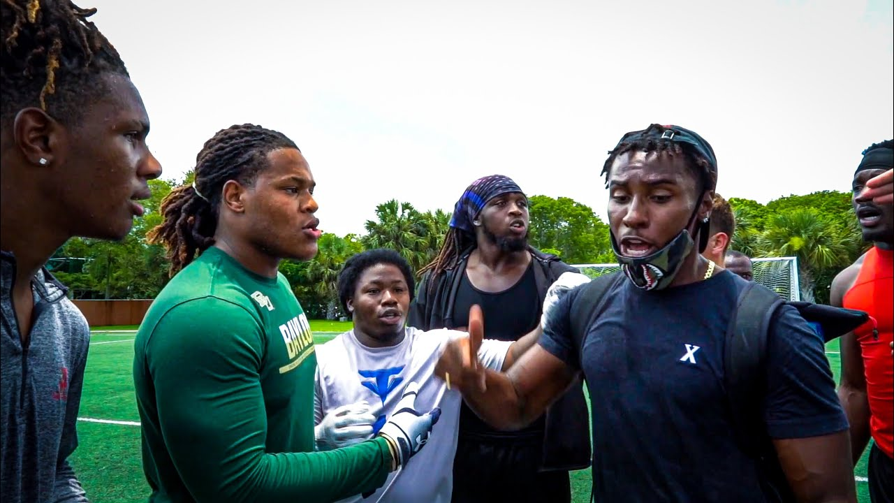 WE DID 7ON7S IN THE HOOD AND THINGS GOT HEATED! (WINNER GETS $1000)
