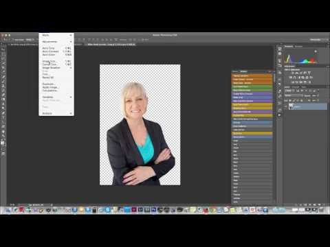 How To Make A Transparent Background Image In Photoshop