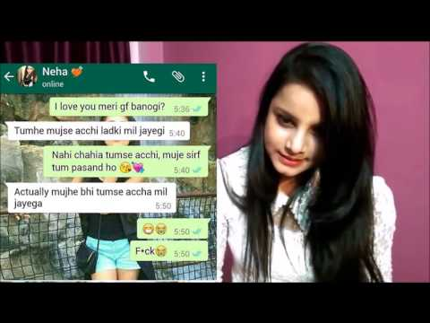 Girls Personal Chat-  Whatsapp conversation