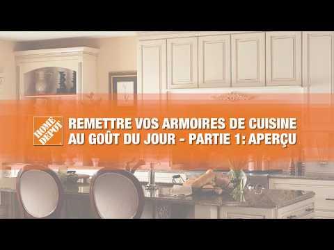 Remettre Vos Armoires de Cuisine au Gout du Jour - Partie 1: Apercu