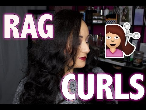 Rag Curls for Thick Hair??? | MsNikkiGBeauty