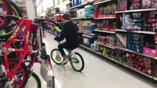 KID GETS SO MAD!!!! GETS KICKED OUT OF WALMART!!!BEATS UP HIS FRIENDS!!!!
