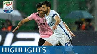 Palermo - Inter - 0-1 - Highlights - Giornata 21 - Serie A TIM 2016/17