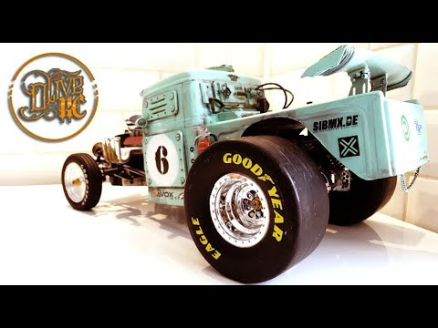 RC GASSER PICK UP - Homemade chassis(1/2)