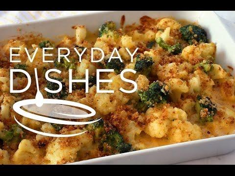 Cheesy Cauliflower and Broccoli Casserole
