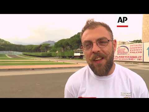 Pizza more than 7 metres long sets world record in Italy