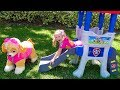 Download Nastya saves toys patrol puppy MP3,3GP,MP4