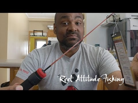 How To Stop An Ice Fishing Reel From Falling Off Your Inexpensive Ice Fishing Rod
