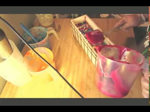 Homemade Cold Process Soap, Making Sangria Punch