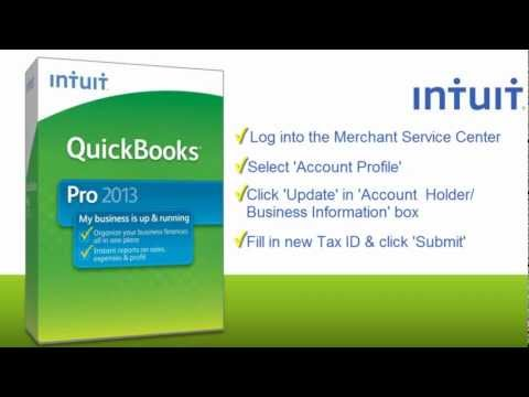 QuickBooks 2013: Change Your Tax ID