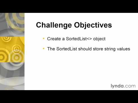 07 03 Challenge Create an object and store string values in it