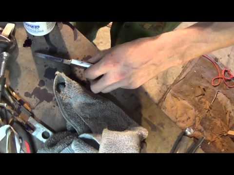 Making a custom straight razor from scratch - The Scottish Razor Co.