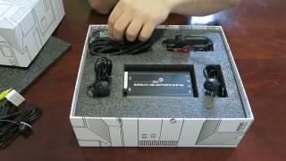 Unboxing of the 360° Surround View Monitoring System (RVS-77535) by Rear View Safety