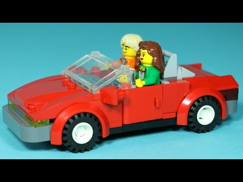 How to Build LEGO Sports Car | Magic Picnic LEGO Animation Vehicles (Part 1 of 5)