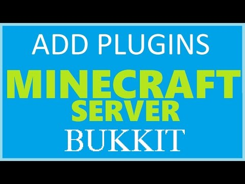 How to: Get Bukkit - 2016 (Minecraft Plugins) - [How to add plugins to a Minecraft Server]