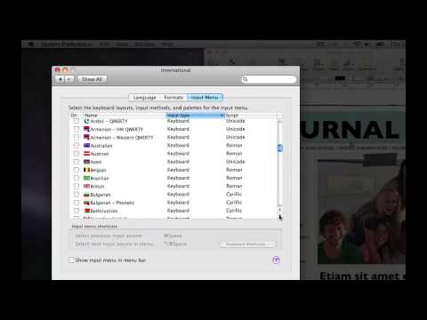 How To: Change Language in Mac