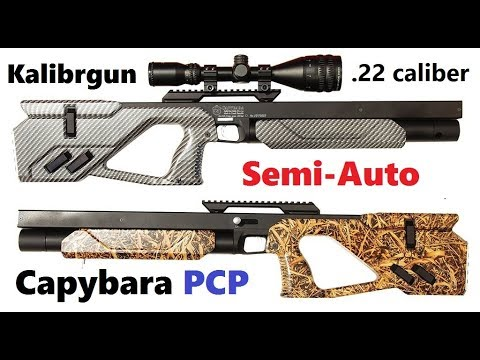 Kalibrgun CAPYBARA Semi-Auto PCP Rifle ( 22 caliber) 2018 Best Air