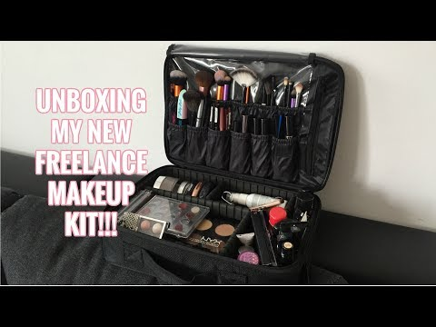 UNBOXING Freelance Makeup Artist Bag from Amazon!!! | TAGALOG (Philippines)