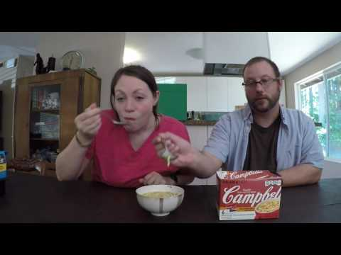 Campbell k-cup Homestyle chicken broth & noodle soup