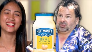 Man Puts Mayo in His Hair.......