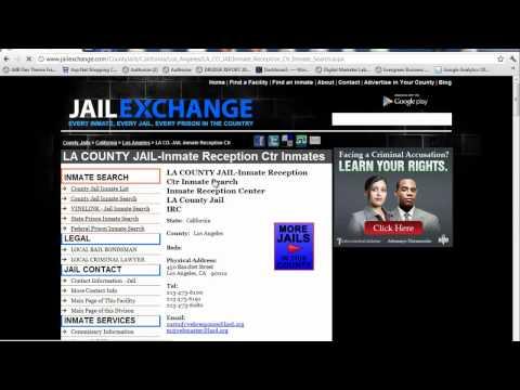 LA County Jail Inmate Search -  LA Booking