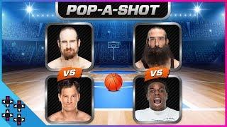 POP-A-SHOT ARCADE BASKETBALL TOURNAMENT #1: Creed vs. Harper & English vs. Gulak