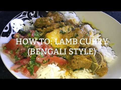 How to Make Lamb Curry (Bengali Style)
