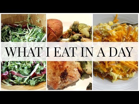 What I Eat in a Day (snack and meal ideas) | Kendra Atkins