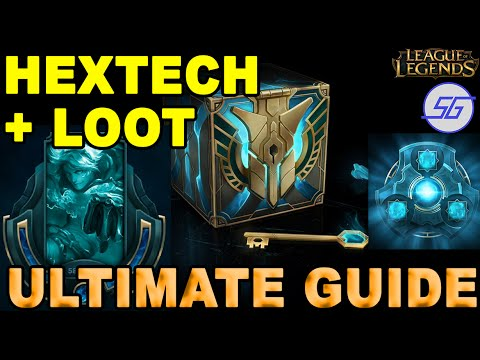 Hextech Crafting + Loot EXPLAINED - Ultimate Guide | League of Legends PBE Patch 6.1