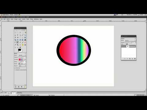How to make a cool logo with Gimp