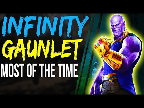 Fortnite How to GET THANOS GAUNTLET Most of The Time- fortnite infinity gauntlet