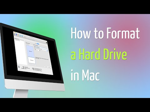 How to Format a Hard Drive in Mac
