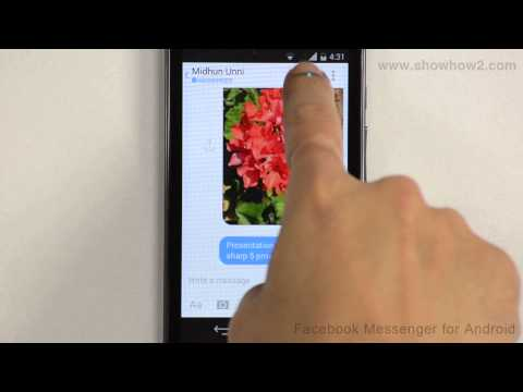 Facebook Messenger For Android - How To Make A Free Call To Facebook Friends