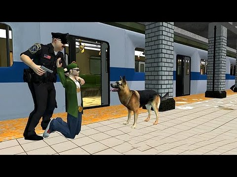 Police Subway Security Dog Sim (by Gam3Dude) Android Gameplay [HD]