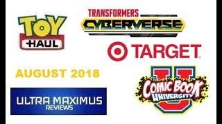 Toy Haul Target Comic Book University (August 2018)