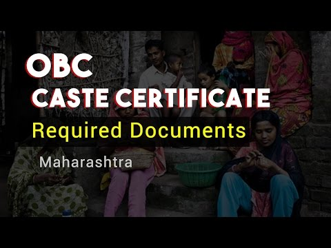 OBC Caste Certificate maharashtra obckalyan