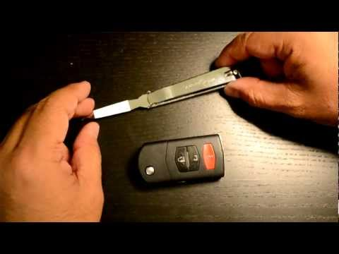 How to Replace a Battery of Key fob Keyless for Mazda 6
