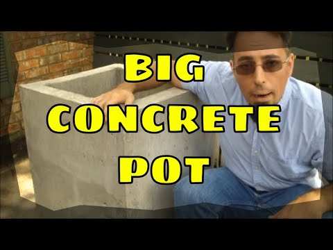 Making a Concrete Planter