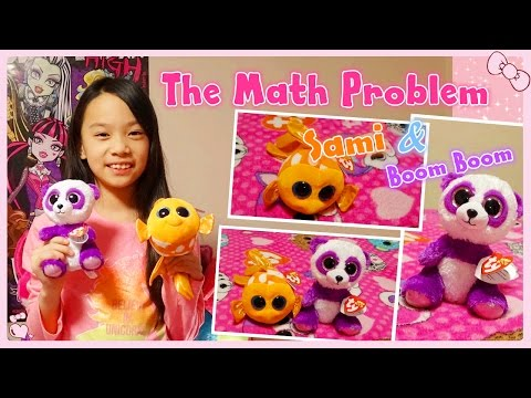 Beanie Boo Collection: The math problem (Boom Boom & Sami) | RG Selena