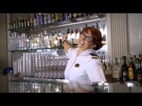 Australia's Mega Cruise Ship: Meet the Crew - Lead Bar Attendant Sofia Carvalho