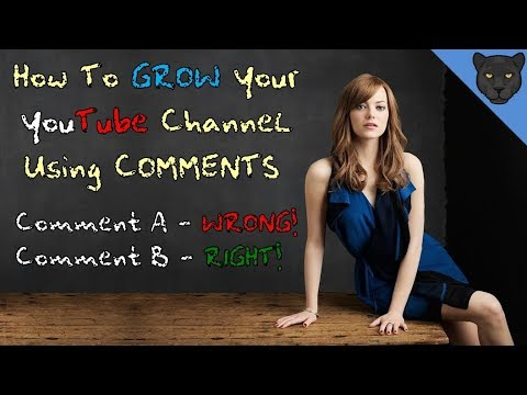 How to Grow Your YouTube Channel Using Comments