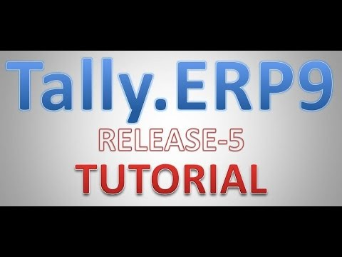 How to Create Group in tally.erp 9