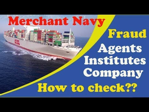 How to check Fraud Institutes,Companies & Doctors in Merchant Navy